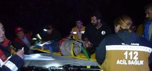 Bolu'da otomobil şarampole devrildi: 5 yaralı