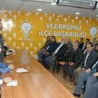 AK Parti Vezirköprü İlçe Başkanlığı İlçe Danışma Toplantısı