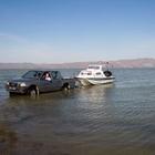 Gölmarmara'ya av koruma teknesi