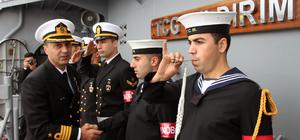 Zonguldak'ta askeri gemiler ziyarete açıldı