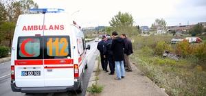 Sakarya'da otomobil şarampole devrildi: 3 yaralı