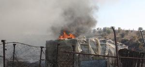 Edirne'de çiftlik yangını