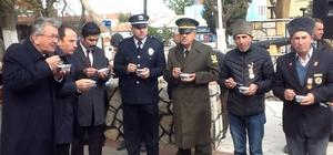 Enez Belediyesinden aşure ikramı