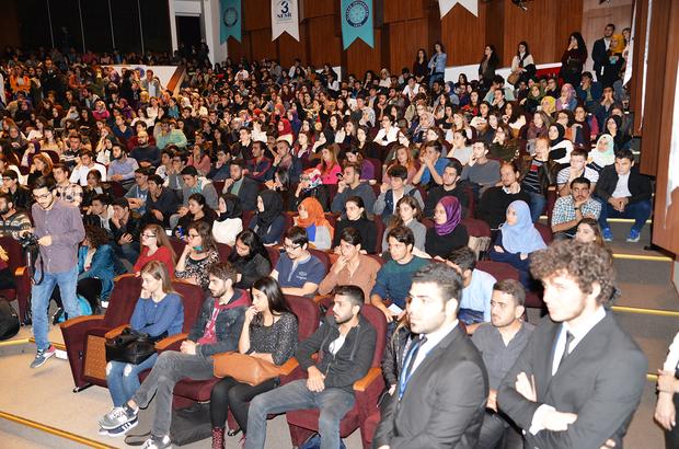 TRT Spikeri Karaş, Uludağ Üniversitesinin etkinliğine katıldı