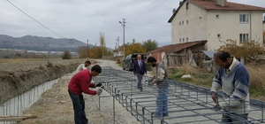 Tosya Belediye Başkanı Şahin, çalışmaları denetledi