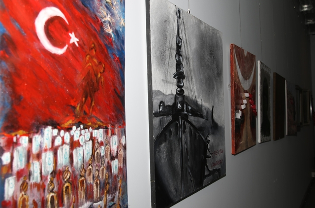 15 Temmuz Demokrasi Mücadelesi Sergisi Açıldı Antalya Haberleri