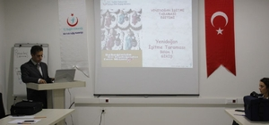 """Siirt'te """"Yenidoğan İşitme Taraması"""" uygulayıcı eğitimi"""