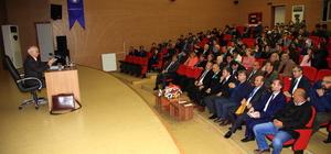 """Tirebolu'da """"Çatışmacı Bireylerden İletişimci Topluma"""" konferansı"""