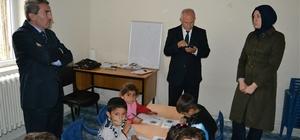 Mardin Milli Eğitim Müdürü Sarı'dan köy okullarına ziyaret