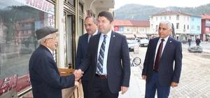 AK Parti Bartın Milletvekili Tunç'tan esnaf ziyareti