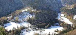 Artvin'de kar yağışı