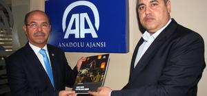 Milletvekili Durmuşoğlu'ndan AA'ya ziyaret