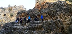 Ulubey kanyonlarında doğa yürüyüşü
