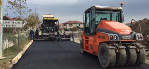 Karasu'da asfalt çalışmaları