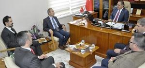 CÜ Rektörü Yıldız'dan Başkan Çiftçi'ye ziyaret