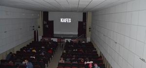 """Kafes"" filmi Akseki'de gösterildi"
