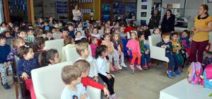 Karamürsel'de anaokulu öğrencilerine çevre eğitimi verildi
