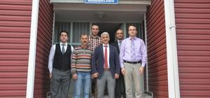 Samsun Meteoroloji Bölge Müdürü Tuncer'den İnebolu'ya ziyaret