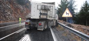 Akseki'de trafik kazası: 1 yaralı