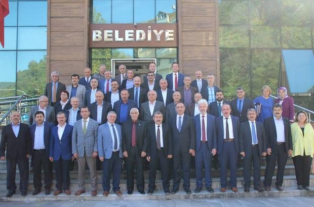 İl Genel Meclisi toplantısı Yağlıdere'de gerçekleştirildi