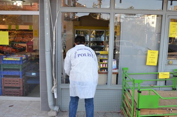 Aksaray'da marketten hırsızlık