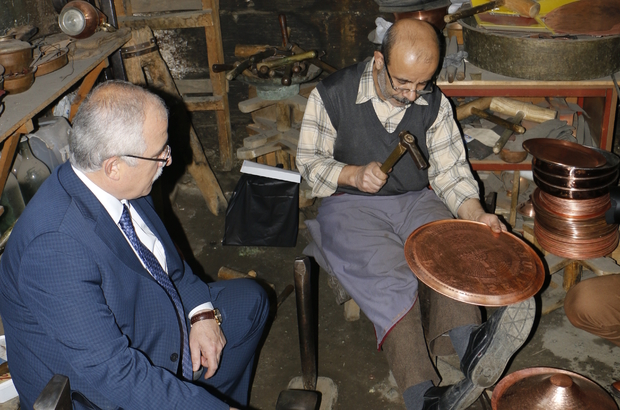 Şanlıurfa Valisi Tuna'nın esnaf ziyaretleri