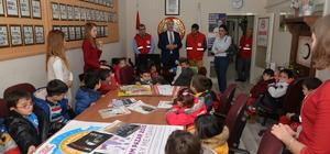 Polatlı Kreş ve Gündüz Bakımevinden Türk Kızılayı'na ziyaret