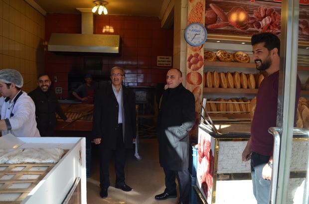 Özalp'ta fırın ve lokantalar denetlendi