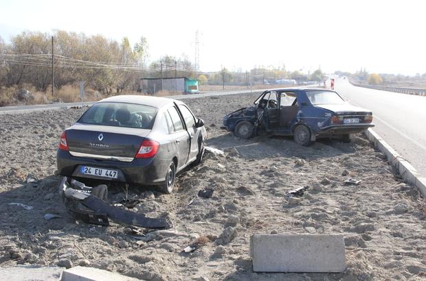 Erzincan'da trafik kazası: 7 yaralı