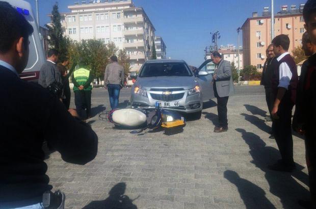 Besni'de trafik kazası: 2 yaralı
