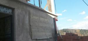 İnebolu'da inşaattan düşen yaşlı adam öldü