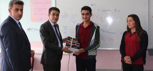 Sulakyurt'ta öğrencilere kitap dağıtıldı