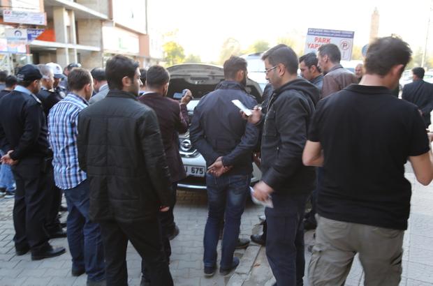 Siirt'te şüpheli araç polisi alarma geçirdi