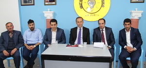 AK Parti Afyonkarahisar Koordinatörü Akgün, Dinar'da