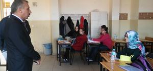 Dinar'da destekleme ve yetiştirme kursları