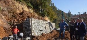 Of Belediye Başkanı Sarıalioğlu'nun incelemeleri