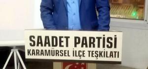 Saadet Partisi Karamürsel İlçe Divan Toplantısı yapıldı