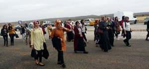 Hizan Aile Destek Merkezi kadınlar için gezi düzenledi