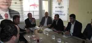 AK Parti Afyonkarahisar Koordinatörü Akgün'den Sandıklı'ya ziyaret