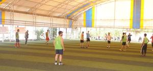Cizre'de öğretmenler arası futbol turnuvası