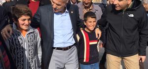 AK Parti Ağrı Milletvekili Gökçe, Diyadin'de