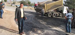 Büyükşehir Belediyesinden Araban'da asfalt çalışması