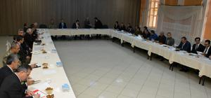 Gümüşhane'de halk eğitimi toplantısı