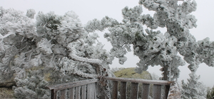 Manisa'ya mevsimin ilk karı yağdı