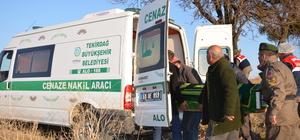 Tekirdağ'da yaşlı adam tarlada ölü bulundu