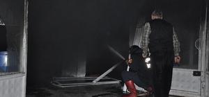 Yozgat'ta iş yeri yangını