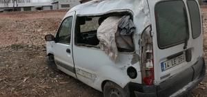 Mudurnu'da trafik kazası: 3 yaralı