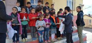 Sason'da esnaftan eğitime destek