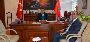 Sandıklı Belediye Başkanı Çöl'den Vali Yıldırım'a ziyaret