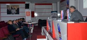 İscehisar'da KOBİ eğitimleri toplantısı